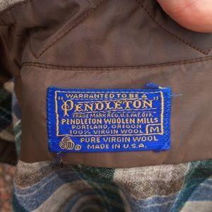 Pendleton Shirts - Vintage Pendleton 100% Wool Flannel